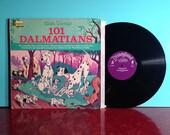 101 Dalmatians Walt Story And Music Disney Album Vinyl Record LP 1965 Gatefold Illustrated Storybook Very Good + Condition Vintage