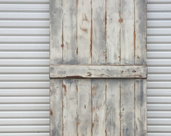 Custom Farmhouse Sliding Barn Door, Shabby Chic Barn Door