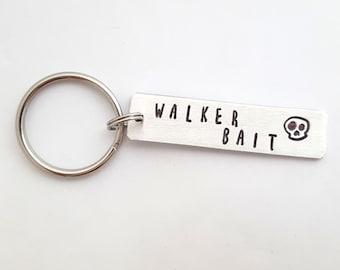 WALKER BAIT Glenn Inspired Keychain Zombie Walking Dead Fan