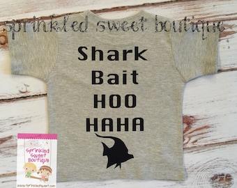 Movie Inspired Finding Nemo Shark Bait Hoo Haha Custom Women Men Kid Child Matching Family Perfect for Disney Vacation Trip Shirts