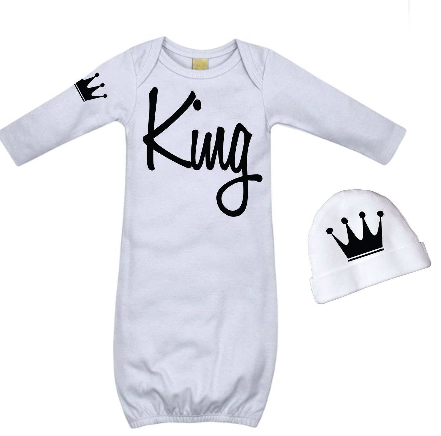 newborn boy take home outfit baby boys king by