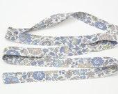 Liberty of London Tana Lawn Fabric D'ANJO E// Liberty Bias Binding // Liberty of London Bias Tape