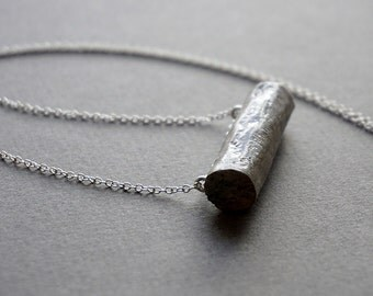 Recycled paper necklace. 1st wedding anniversary gift for wife. Eco friendly paper jewelry.