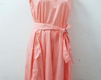 1960s Bubblegum Pink Day Dress