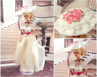 Princess dress for Barbie doll