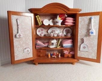 1:12 Scale Miniature Cabinet