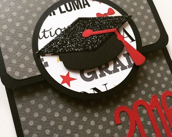 Graduation Gift Card Holder, Gift Card Envelope, Gift Card Holder, Money Envelope, Cap, Graduation Card, Graduation Gift, Gift Card Holder