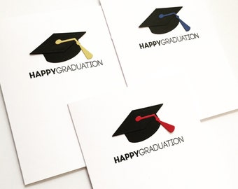 Graduation Cards, Graduation Card Set, Graduation Party Invitations, Congrats to the Grad Card, 2016 Graduation Cards, Set of 3