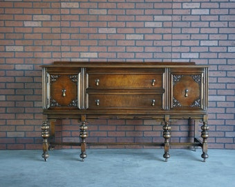 Buffet / Sideboard / Server / Vintage Buffet / Antique Sideboard / 1920-1930's era ~ Paint To Order ~