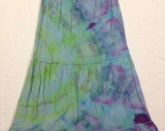 Funky Tie Dye Ladies Skirt size Large W182