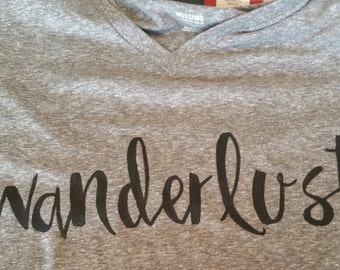 Wanderlust shirt, not all who wander