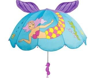 Kidorable 3D mermaid umbrella