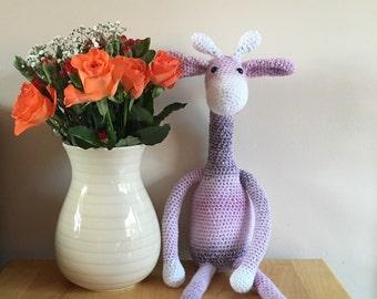 Crochet giraffe , amigurumi animals , toy giraffe , giraffe baby toy , plush giraffe.