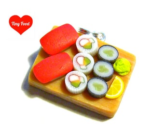 Vacation SALE Sushi Platter Pendant 1