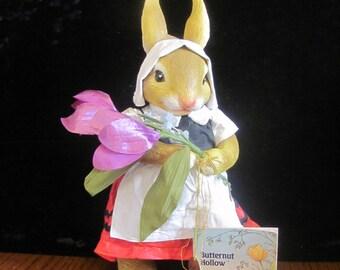 Possible Dreams Butternut Hollow Lynn Rabbit Clothtique Bunny