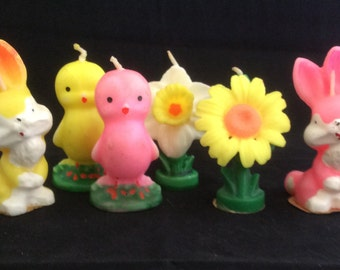 Gurley Easter Candles-set of 6