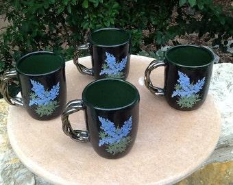 Small handmade cups