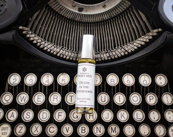 Dead Writers Perfume® Oil 9ml Bottle - Tobacco, Heliotrope, Vetiver, Black Tea, Vanilla (Read Below if Sold Out)