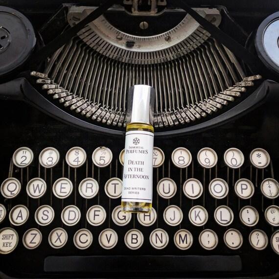 Dead Writers Perfume® Oil 9ml Bottle - Tobacco, Heliotrope, Vetiver, Black Tea, Vanilla (Read Below if Sold Out)