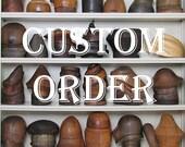 Nonrefundable Deposit for Custom Order Reserved for E