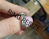 Ring resize for Paige