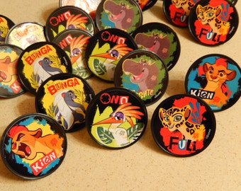 24 The Lion Guard Ring Cupcake/Cake topper Party Supply