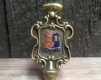 Chester Brass door knocker, Made in England