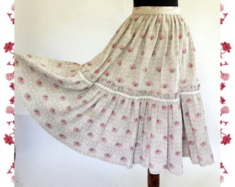 "1960's Vintage ""Original Switzerland"" Skirt"
