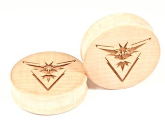 Handmade Instinct Maple wood plugs
