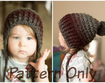 The Cora Hood Crochet Pattern (Toddler and young child sizes)