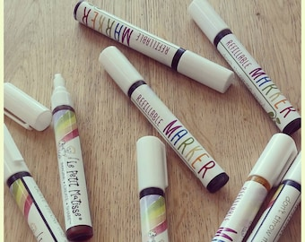 Refillable Markers, Nontoxic Natural Ink, Nontoxic Markers, natural ink pens, natural dyes
