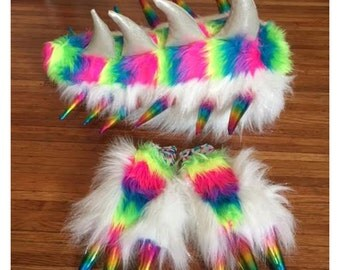 Day Sparkle Rainbow Dino Set