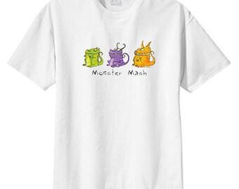 Monster Mash New T Shirt S M L XL 2X 3X 4X 5X Halloween