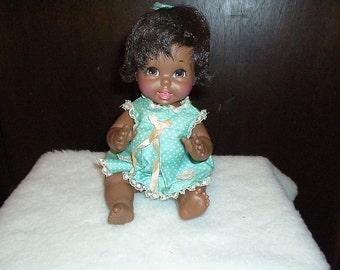 1967 Mattel Black Baby Small Talk Doll