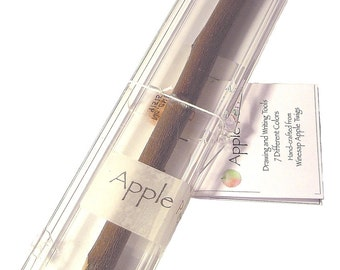 "Apple Pencil - The Original Single 7"" No. 2 Graphite Twig Pencil Made in USA"