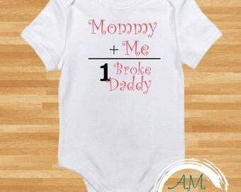 Mommy + Me Baby Girl Onesie