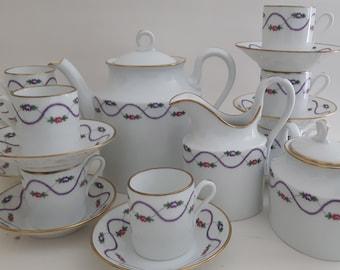 Demi-Tasse Tea Set-Richard Ginori