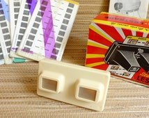Vintage View Master - View-Master with reels - Stereoscope LESTRADE Original box - Mid Century - Vintage Toy 1960s 1970s - Souvenier Lourdes