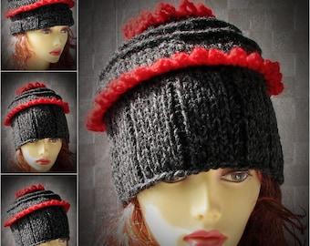 Women's Knit Hats, Women's Winter Hat, Women's Hats, Hand Knit Hat Women, Knit Hat Woman
