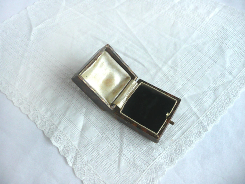 antique ring box vintage ring box wedding ring box