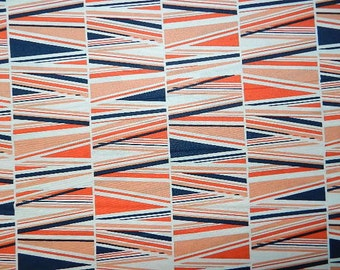 Waterfront Park Orange by Micheal Miller - Fabric By The Half Yard 18 inches x 44 inches