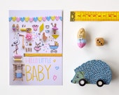 Hello Little Baby postcard