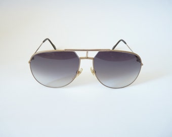 Jaguar 327 Mens vintage sunglasses 1980s aviator style