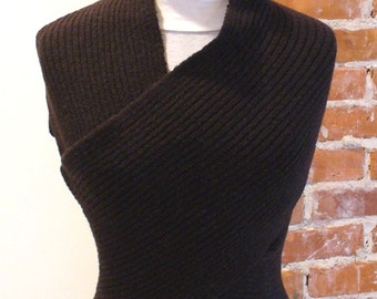Made in Italy Sisley Wrap Sweater
