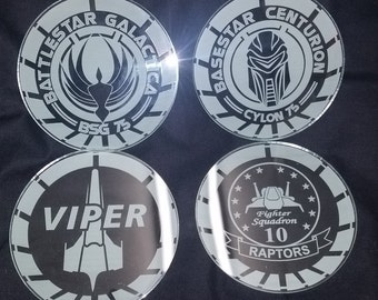 Battlestar Galactica Coasters