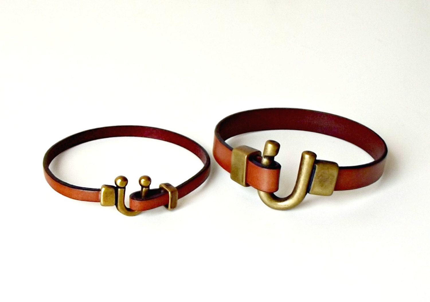 leather bracelets for couples couples set his and hers