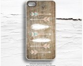 iPhone 6S Case iPhone 5C Case Native iPhone 5s Case Feathers iPhone 6 Plus Case Tribal Arrows iPhone 5 Case Wood Print iPhone 6S Case I127