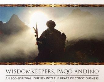ON SALE 10% off DVD: Wisdomkeepers, Paqo Andino, film, Peru, Andean, spiritual movie