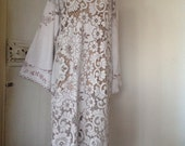 Women's Gypsy Soul Lace Maxi Dress.Size 10 - 14.Made to order.
