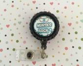 ID Badge clip - Nurses rock